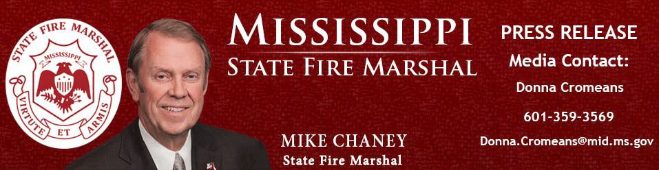 State Fire Marshal Alerts Mississippians About Unauthorized Alarm Salesmen